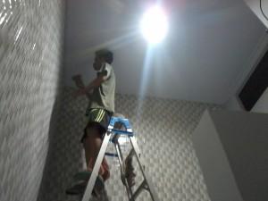 renovasi rumah gading serpong, pasang keramik gading serpong