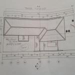 Renovasi Bangunan : Ganti atab baja ringan 122 m2 analisis Biaya