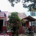 Renovasi rumah tua di villa serpong : ganti atap baja ringan 3